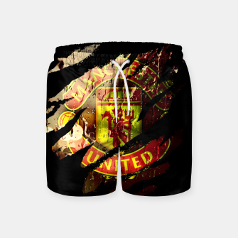 Thumbnail image of Manchester United Football Club Fans  Swim Shorts, Live Heroes