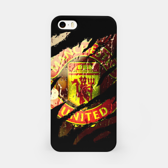 Thumbnail image of Manchester United Football Club Fans  iPhone Case, Live Heroes