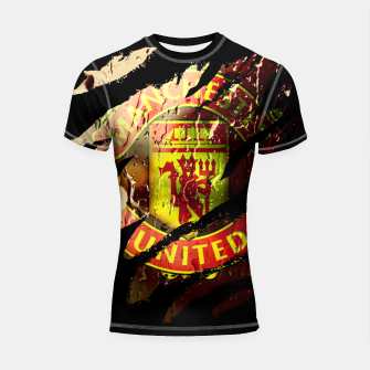Thumbnail image of Manchester United Football Club Fans  Shortsleeve rashguard, Live Heroes