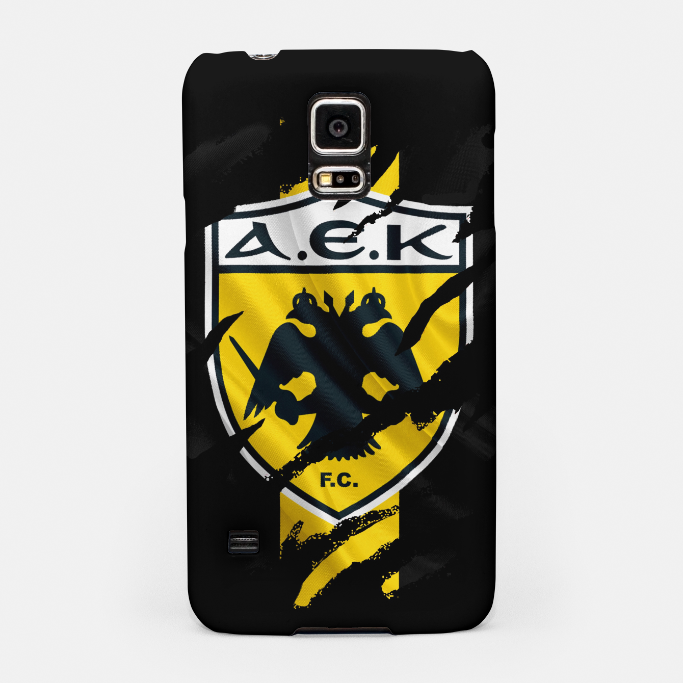Image of AEK Athens Gate 21 Greece Football Club Fans Samsung Case - Live Heroes