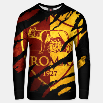 Thumbnail image of Roma AC Italy Football Club Fans Unisex sweater, Live Heroes