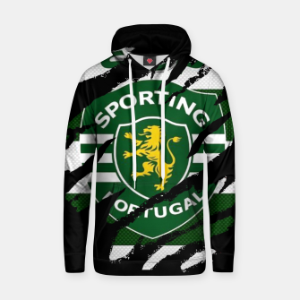 Thumbnail image of Sporting Lisboa Portugal Football Club Fans Hoodie, Live Heroes