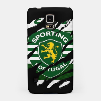 Thumbnail image of Sporting Lisboa Portugal Football Club Fans Samsung Case, Live Heroes
