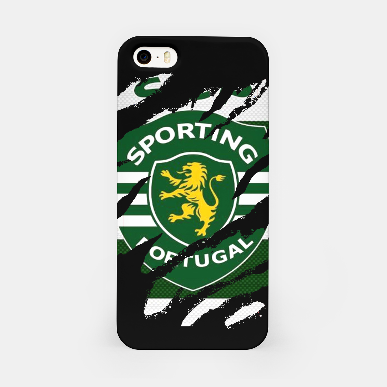 Image of Sporting Lisboa Portugal Football Club Fans iPhone Case - Live Heroes
