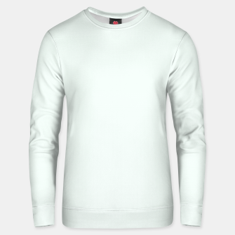 Thumbnail image of color mint cream Unisex sweater, Live Heroes
