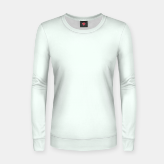 Thumbnail image of color mint cream Women sweater, Live Heroes
