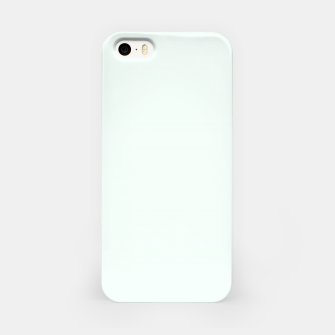 Thumbnail image of color mint cream iPhone Case, Live Heroes