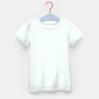 Thumbnail image of color mint cream Kid's t-shirt, Live Heroes