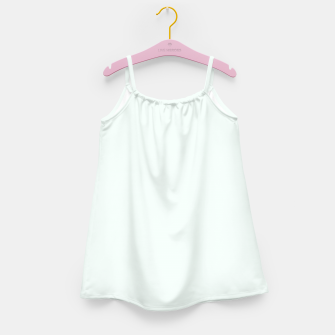 Thumbnail image of color mint cream Girl's dress, Live Heroes