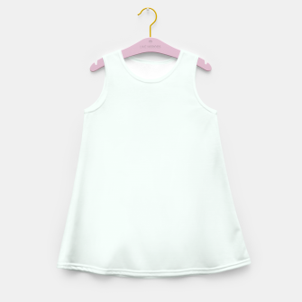 Thumbnail image of color mint cream Girl's summer dress, Live Heroes