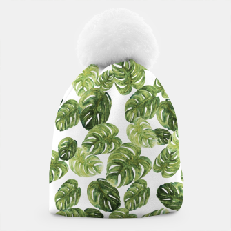 Thumbnail image of Monstera Leaves Beanie, Live Heroes