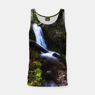 Thumbnail image of Waterfall in enchanted forest Tank Top, Live Heroes