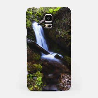 Thumbnail image of Waterfall in enchanted forest Samsung Case, Live Heroes