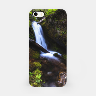 Thumbnail image of Waterfall in enchanted forest iPhone Case, Live Heroes