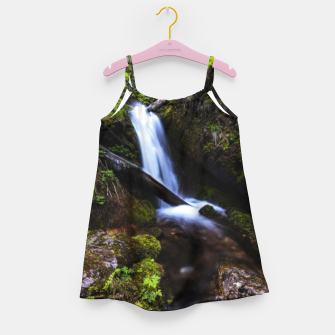 Thumbnail image of Waterfall in enchanted forest Girl's dress, Live Heroes