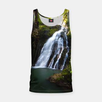Thumbnail image of Stuning waterfall with sunlight glow Tank Top, Live Heroes