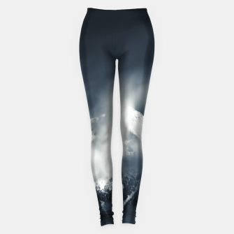 Thumbnail image of Darkness and chaos over the mountain Leggings, Live Heroes