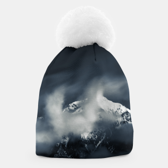 Thumbnail image of Darkness and chaos over the mountain Beanie, Live Heroes