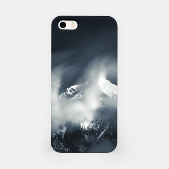 Thumbnail image of Darkness and chaos over the mountain iPhone Case, Live Heroes
