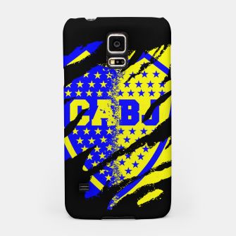 Thumbnail image of Boca Juniors 1905 CABJ Argetina Football Club Fans Samsung Case, Live Heroes