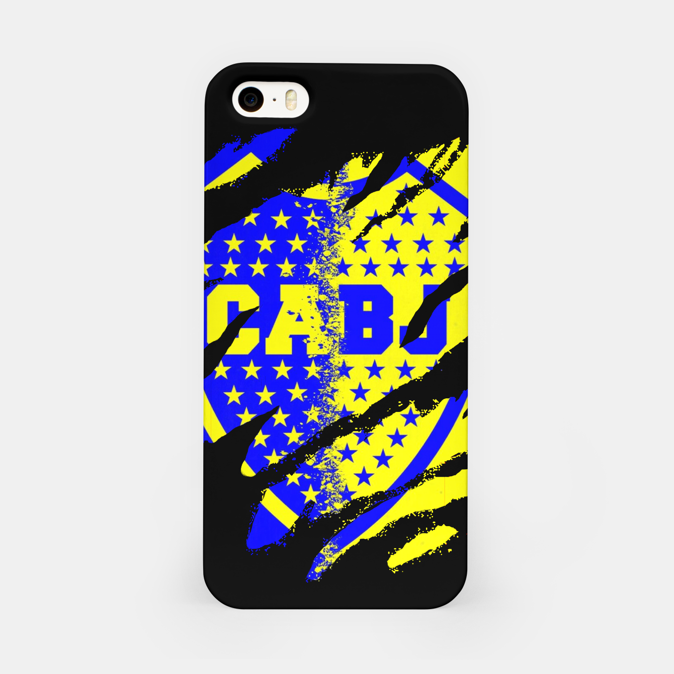 Image of Boca Juniors 1905 CABJ Argetina Football Club Fans iPhone Case - Live Heroes
