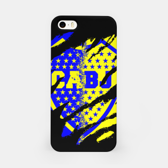 Thumbnail image of Boca Juniors 1905 CABJ Argetina Football Club Fans iPhone Case, Live Heroes
