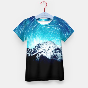 Thumbnail image of Between the galaxy and the mountain Kid's t-shirt, Live Heroes