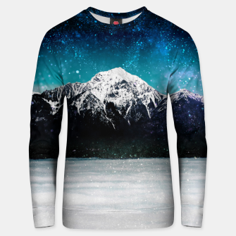 Miniaturka Dreamy galaxy mountain above the clouds Unisex sweater, Live Heroes