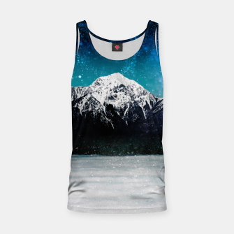 Miniaturka Dreamy galaxy mountain above the clouds Tank Top, Live Heroes