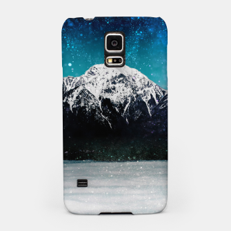 Miniaturka Dreamy galaxy mountain above the clouds Samsung Case, Live Heroes