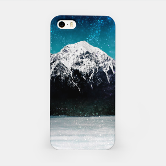 Miniaturka Dreamy galaxy mountain above the clouds iPhone Case, Live Heroes