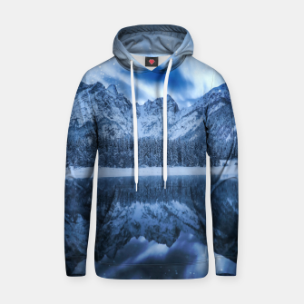 Miniature de image de Fantasy at mountain lake Hoodie, Live Heroes