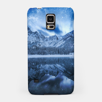 Miniature de image de Fantasy at mountain lake Samsung Case, Live Heroes