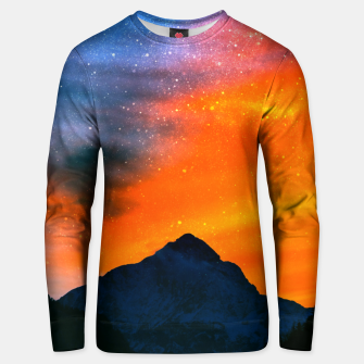 Miniature de image de Fantasy world at mountains Unisex sweater, Live Heroes