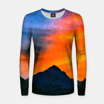 Miniature de image de Fantasy world at mountains Women sweater, Live Heroes