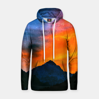 Miniature de image de Fantasy world at mountains Hoodie, Live Heroes