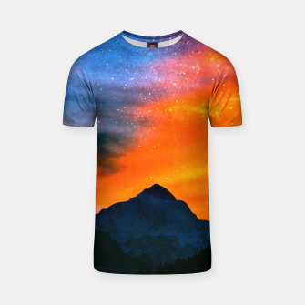 Miniature de image de Fantasy world at mountains T-shirt, Live Heroes