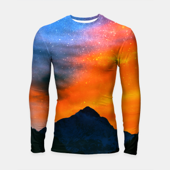 Miniature de image de Fantasy world at mountains Longsleeve rashguard , Live Heroes