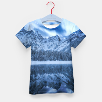 Thumbnail image of Fantasy at mountain lake Kid's t-shirt, Live Heroes