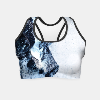 Miniatur King of the mountains Crop Top, Live Heroes