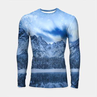 Miniature de image de Fantasy at mountain lake Longsleeve rashguard , Live Heroes