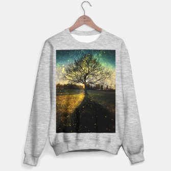 Miniaturka Magical fireflies dreamy landscape Sweater regular, Live Heroes