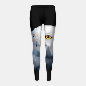 Thumbnail image of queen of the forest Girl's leggings, Live Heroes
