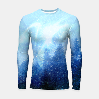 Miniature de image de The forest awakens from the mist Longsleeve rashguard , Live Heroes