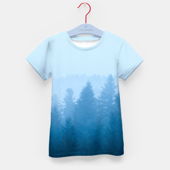 Thumbnail image of Fog over forest Kid's t-shirt, Live Heroes