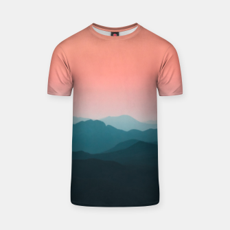 Thumbnail image of Early morning layers T-shirt, Live Heroes