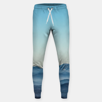 Thumbnail image of Fog layers, hills and mountain Sweatpants, Live Heroes