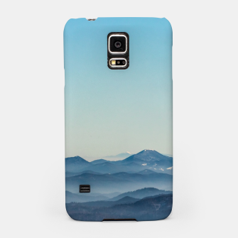 Thumbnail image of Fog layers, hills and mountain Samsung Case, Live Heroes