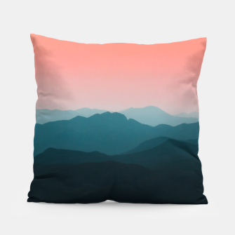 Thumbnail image of Early morning layers Pillow, Live Heroes