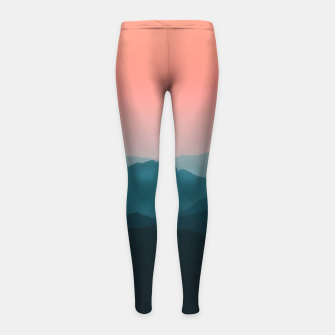Thumbnail image of Early morning layers Girl's leggings, Live Heroes